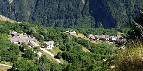 Ussolo, hameau  de Prazzo