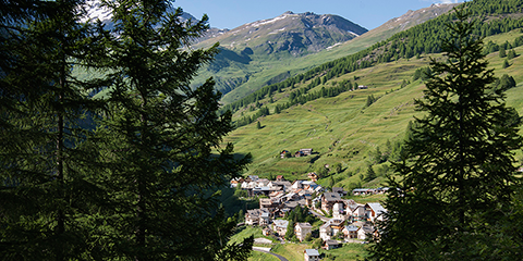 Le Roux, municipality of Abriès (France)