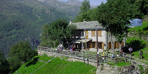 Rifugio Piazza, municipality of Traversella