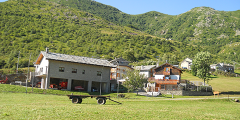 Scalaro, municipality of Quincinetto