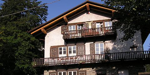 Balme, hameau Cornetti