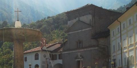 Santuario San Giovanni di Andorno, comune di Campiglia