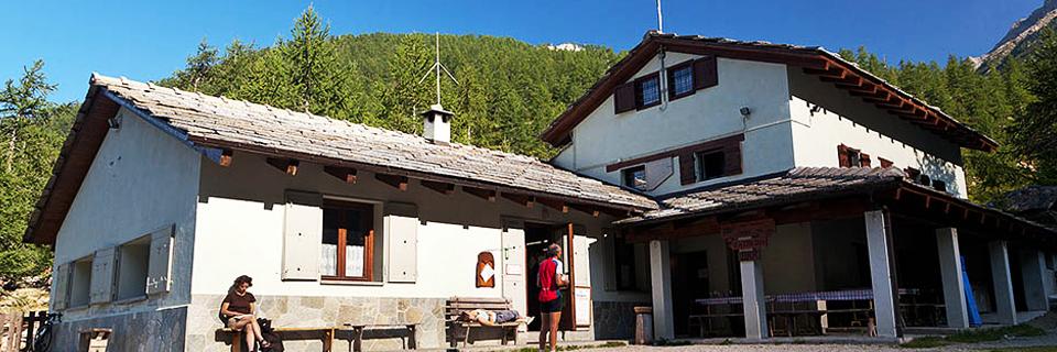 Berghütte Barbara Lowrie, Gemeinde Bobbio Pellice