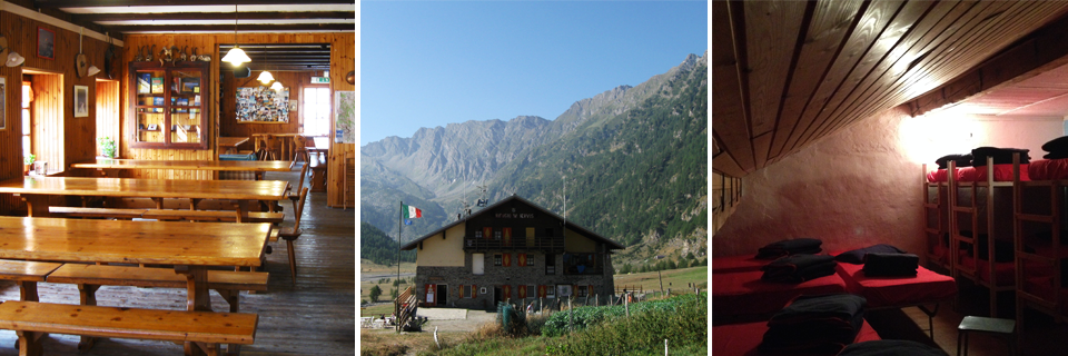 Berghütte Jervis, Gemeinde Bobbio Pellice