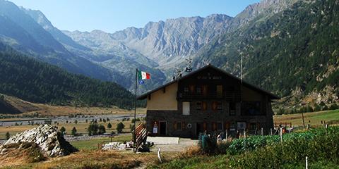 Rifugio Jervis, comune di Bobbio Pellice