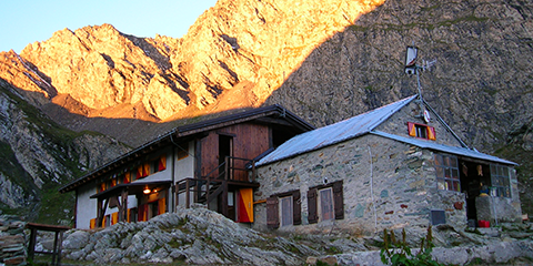 Refuge Granero, commune de  Bobbio Pellice