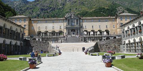 Sanctuaire d'Oropa, Commune de  Biella