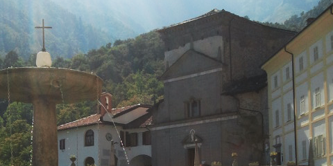 Sanctuaire San Giovanni di Andorno, Commune de Campiglia Cervo