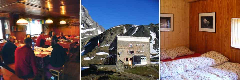 Rifugio Gastaldi, comune di Balme