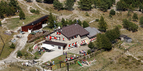Berghütte Mongioie, Gemeinde Ormea
